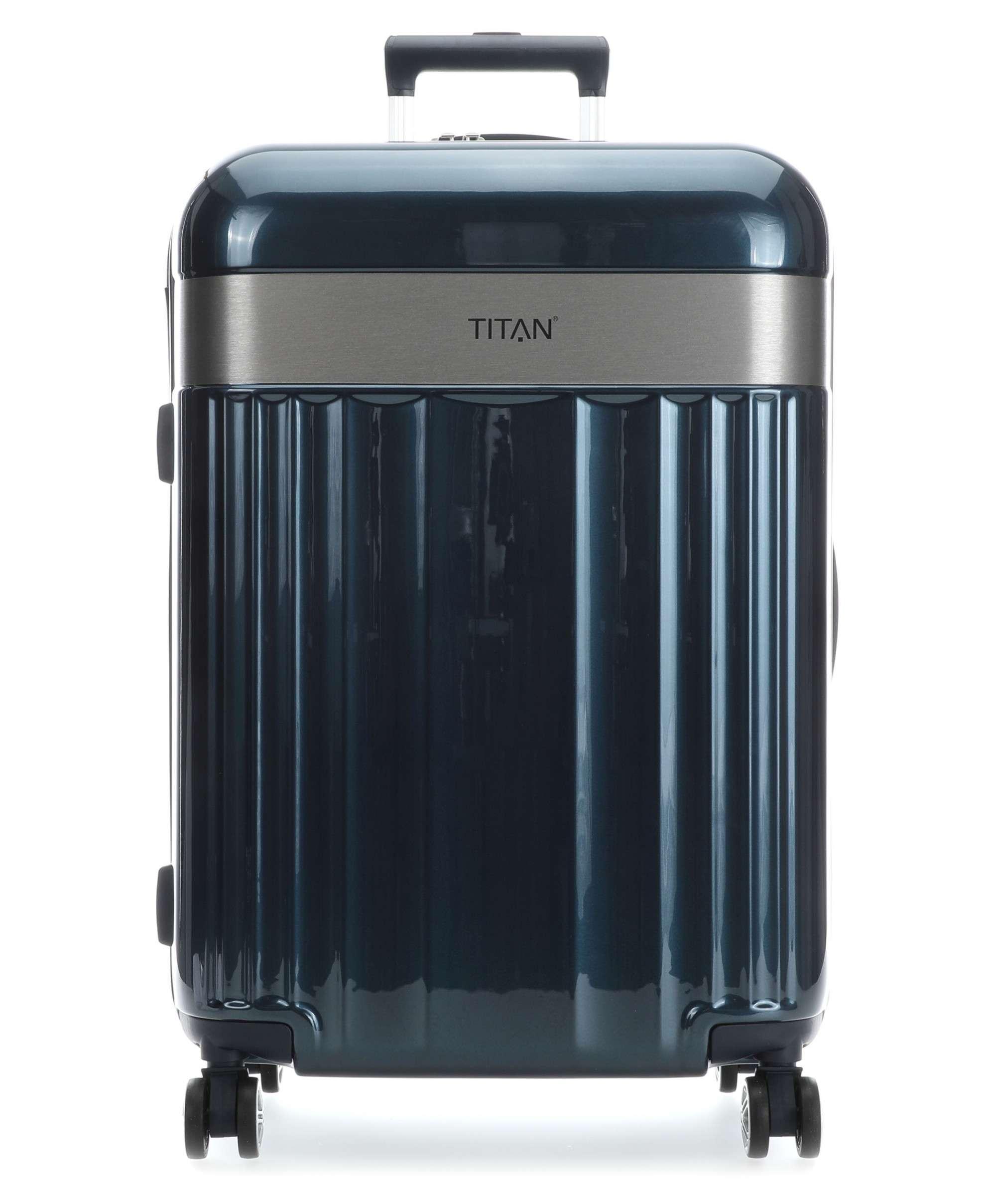 Troler TITAN - SPOTLIGHT -  L - 76 cm 4 roti duble