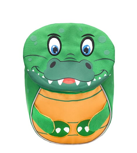 Ghiozdan de gradinita  BELMIL Mini Crocodile