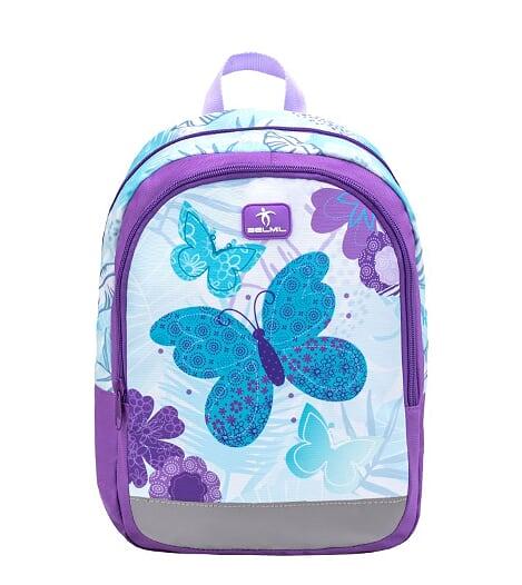 Ghiozdan de gradinita  BELMIL Kiddy Butterfly