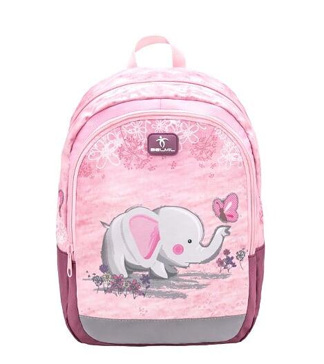 Ghiozdan de gradinita  BELMIL Kiddy Elephant
