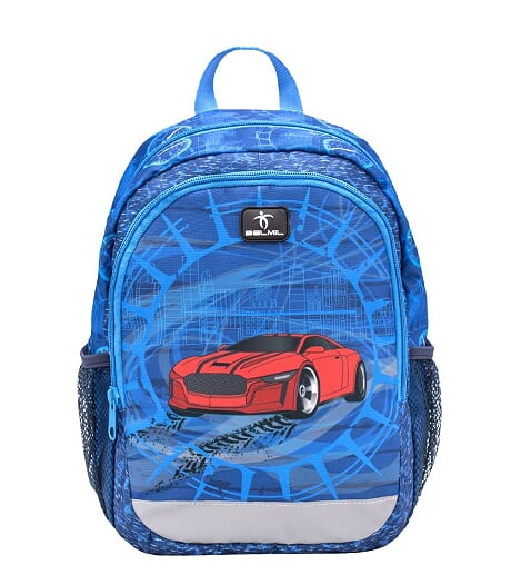 Ghiozdan de gradinita  BELMIL Kiddy Plus Super Car
