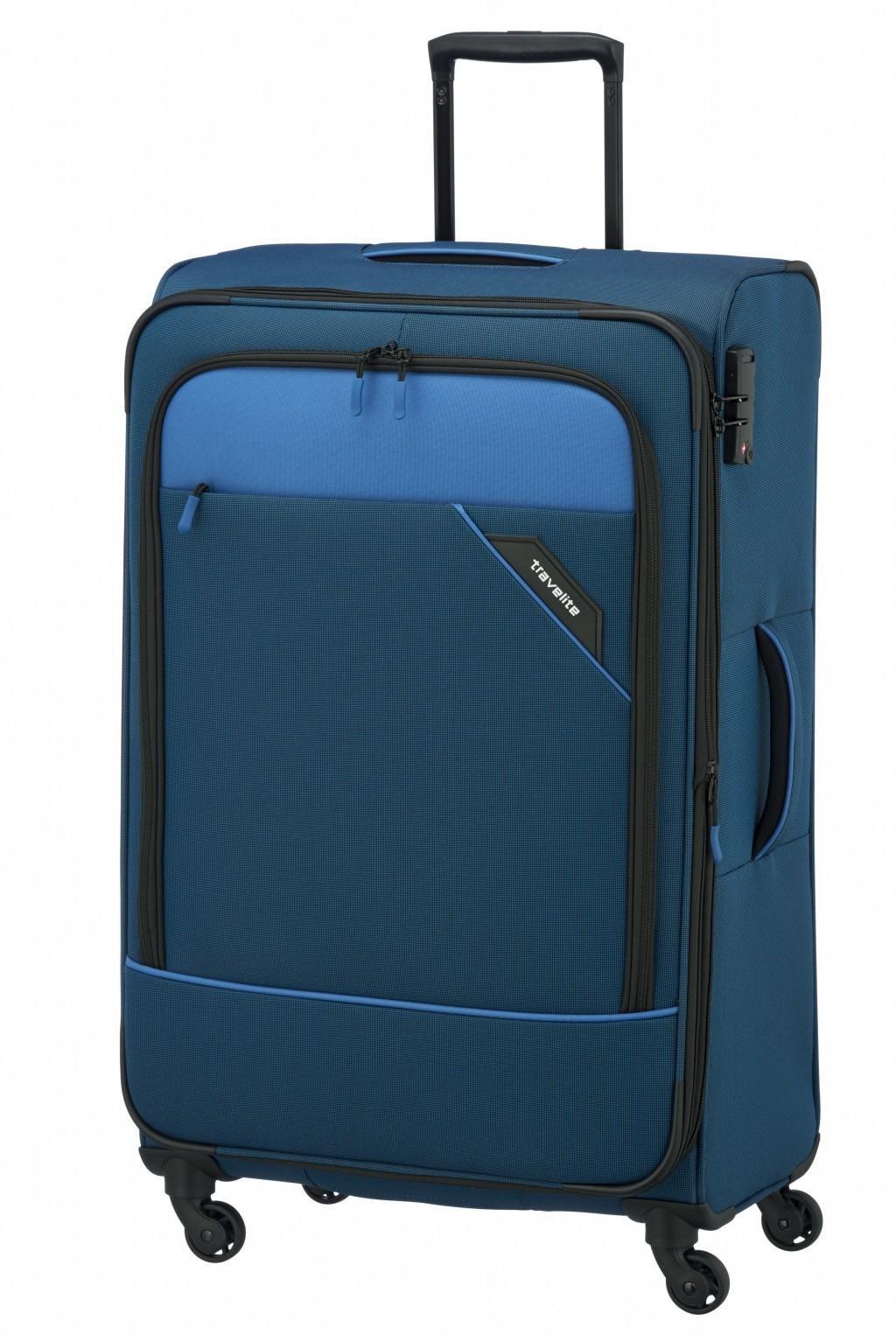 Troler de cala Travelite Derby 4 roti L 77 cm - extensibil