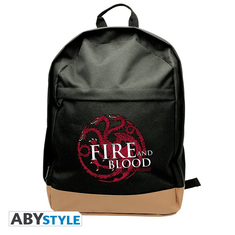 Rucsac GAME OF THRONES - Targaryen -  Negru