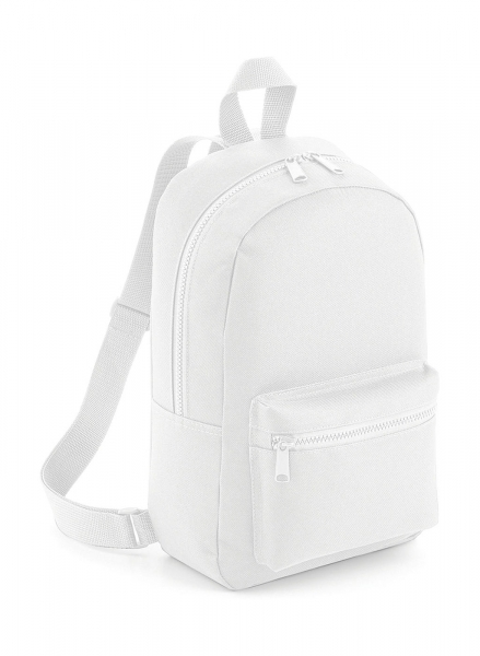 Rucsac mini Travel alb 0