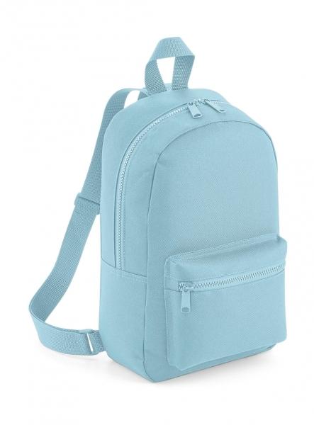 Rucsac mini Travel bleu pudrat 0