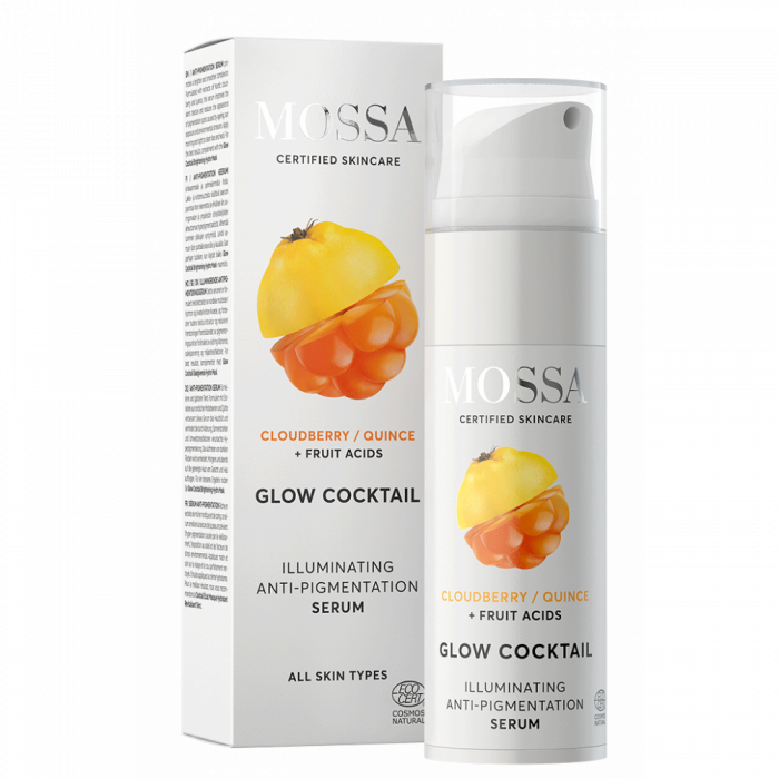 GLOW COCKTAIL Ser iluminator anti-pigmentare 25ml - Mossa 0