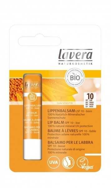 Balsam de buze cu protectie solara FPS 10 - LAVERA 0