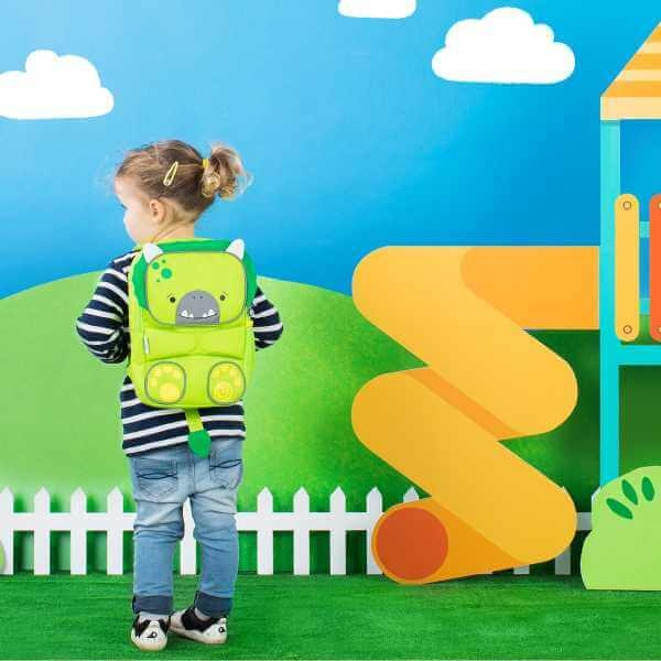 Rucsac Trunki TODDLEPAK BACKPACK - Dino 5