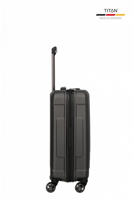 Troler de cabina TITAN X-RAY PRO S ( 40 x 55 x 20 cm) - Amprenta digitala si USB inclus 4