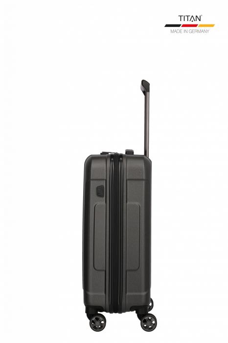 Troler de cabina TITAN X-RAY PRO S ( 40 x 55 x 20 cm) - Amprenta digitala si USB inclus 5