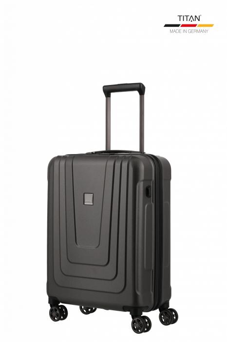 Troler de cabina TITAN X-RAY PRO S ( 40 x 55 x 20 cm) - Amprenta digitala si USB inclus 6