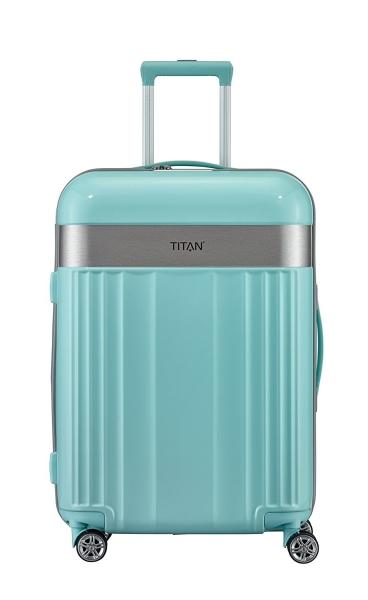 Troler TITAN - SPOTLIGHT - M - 67 cm 4 roti duble 0