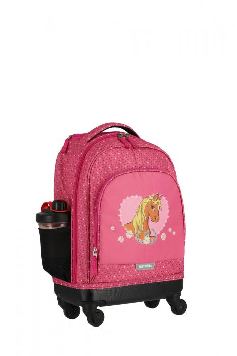 Rucsac pentru copii cu troler Pony - travelite 16