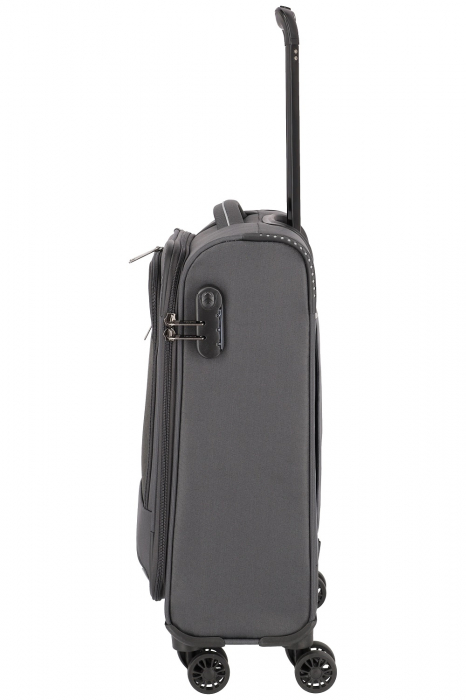 Troler de cabina Travelite Arona 4 roti duble 55 cm S 7