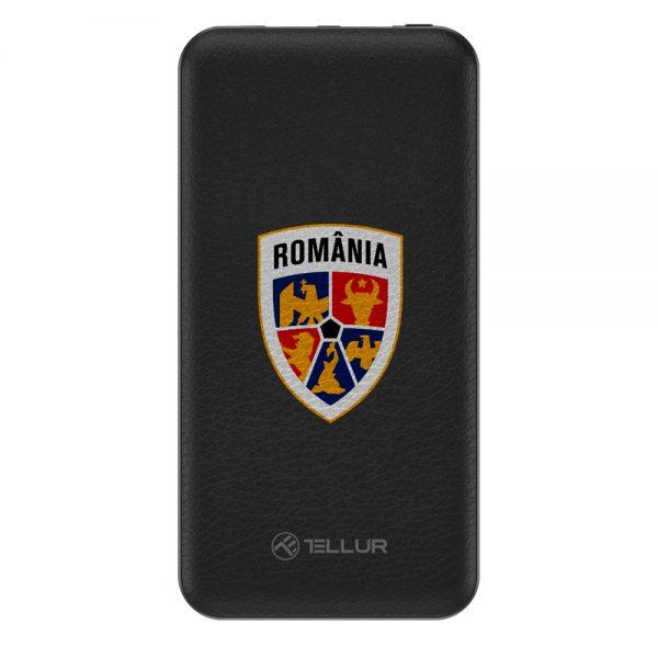Baterie externa Tellur FRF slim 10000mAh 2 x USB + Micro USB, FRF, negru 0