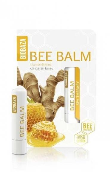 Balsam de buze cu miere si ghimbir - BIOBAZA 0