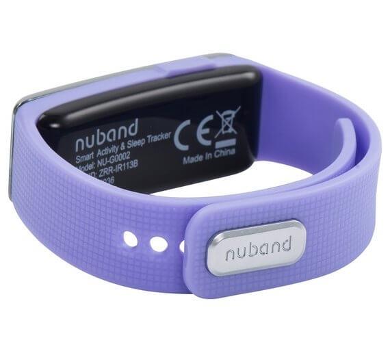 Bratara fitness NUBAND Active lilac 23111 2
