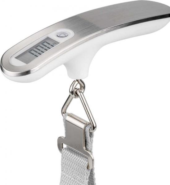 Cantar digital bagaje alb/argintiu 50kg 0