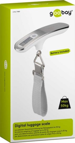 Cantar digital bagaje alb/argintiu 50kg 3