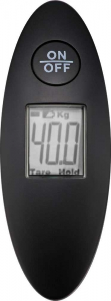 Cantar digital bagaje negru 40kg compact, cu dispozitiv LCD 1