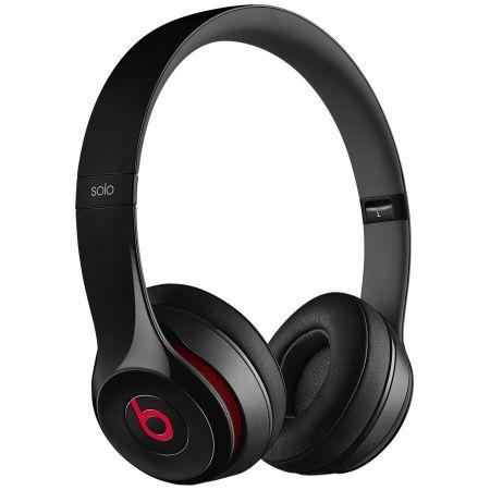 Casti Beats Solo2 On-Ear Headphones - Black - mh8w2zm 0