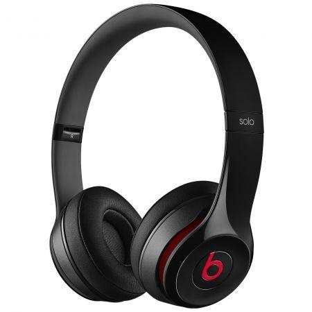 Casti Beats Solo2 On-Ear Headphones - Black - mh8w2zm 2