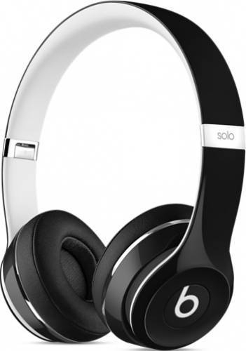 Casti Beats Solo2 On-Ear Headphones (Luxe Edition) - Black (ml9e2zm/a) 0