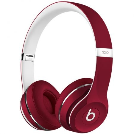 Casti Beats Solo2 On-Ear (Lux Edition)-Red ml9g2zm/a 0