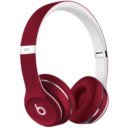 Casti Beats Solo2 On-Ear (Lux Edition)-Red ml9g2zm/a 1