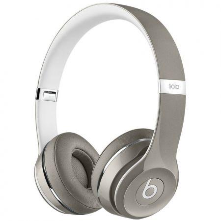 Casti Beats Solo2 On-Ear (Luxe Ed.)Silver mla42zm/a 2