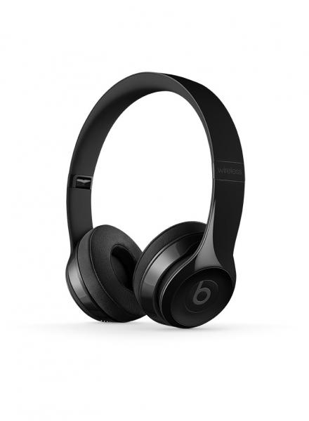 Casti Beats Solo3 Wireless On-Ear Headphones - Gloss Black mnen2zm 0