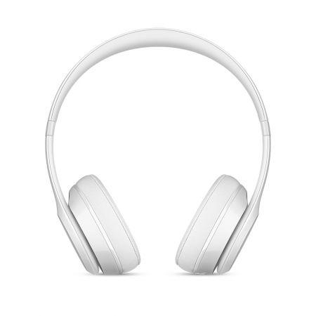 Casti Beats Solo3 Wireless On-Ear Headphones - Gloss White - mnep2zm [5]