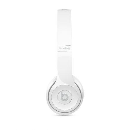 Casti Beats Solo3 Wireless On-Ear Headphones - Gloss White - mnep2zm [6]