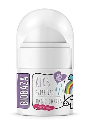 Deodorant natural pentru copii Magic Garden, 30ml - BIOBAZA 0