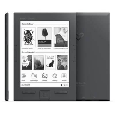 "E-Book Reader Energy Sistem HD, Slim ,6"", E-Ink , HD, 8GB 3"