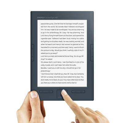 "E-Book Reader Energy Sistem Screenlight HD, 6"", 8GB"