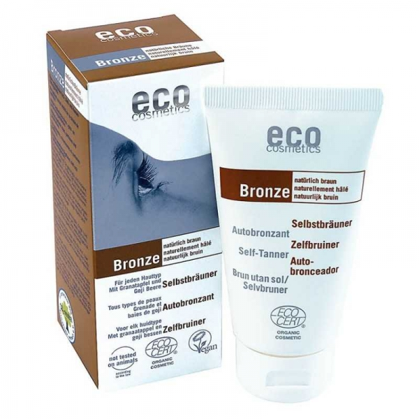 Fluid autobronzant bio pentru fata si corp cu rodie si extract de goji, 75 ml - Eco Cosmetics [0]