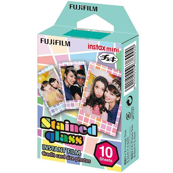 Fujifilm Instax Mini Pack Stained Glass - film instant [0]
