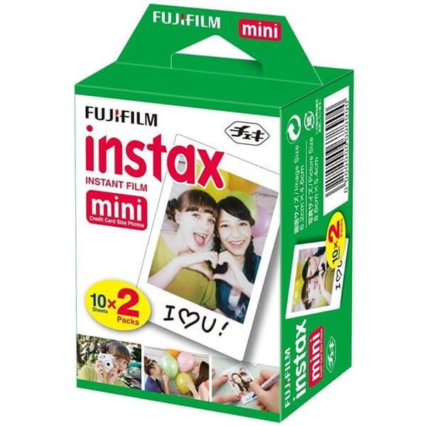 Fujifilm Instax Mini - film instant 2x10 bucati 0