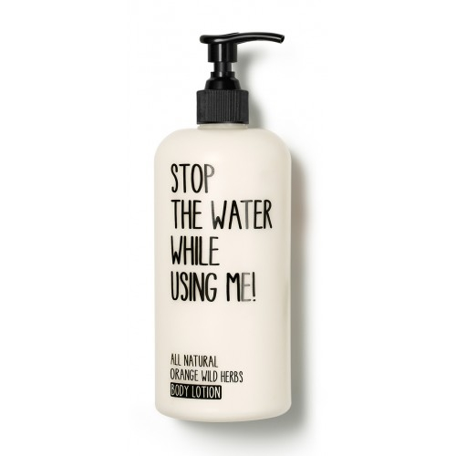 Lotiune de corp Orange Wild Herbs 200 ml Stop the water while using me