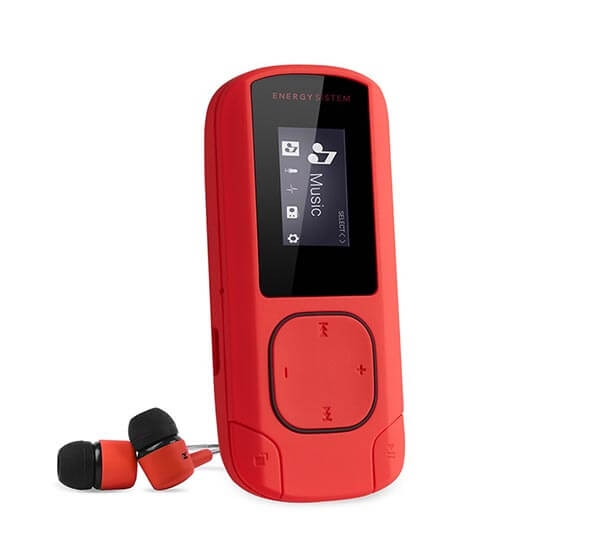 MP3 Player Energy Sistem CLIP Coral 0