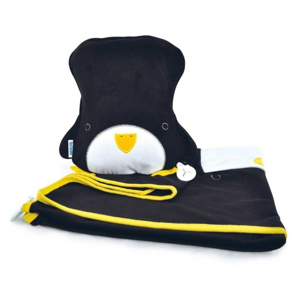Set perna si pled Trunki SnooziHedz Penguin 0