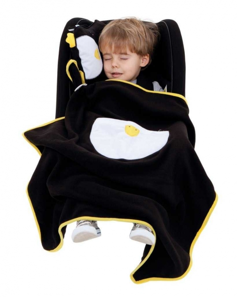 Set perna si pled Trunki SnooziHedz Penguin 1