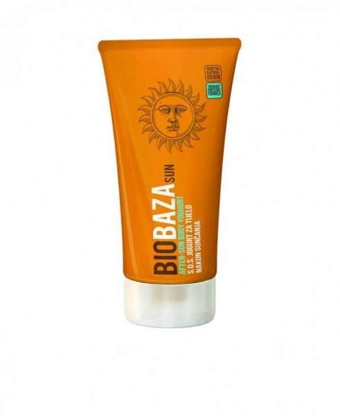 Lotiune naturala calmanta after-sun cu iaurt, 150 ml - BIOBAZA 0