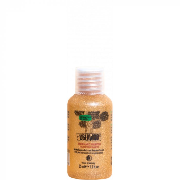 Șampon COLOUR SHINE pentru păr vopsit ÜBERWOOD - 35 ml-TRAVEL 0