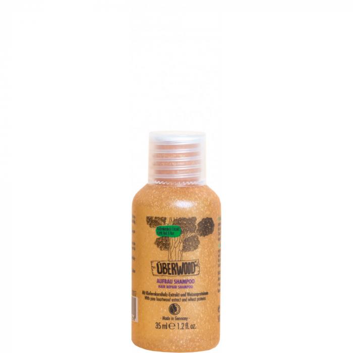 Șampon HAIR REPAIR pentru păr normal sau deteriorat - TRAVEL 35 ml - ÜBERWOOD 0