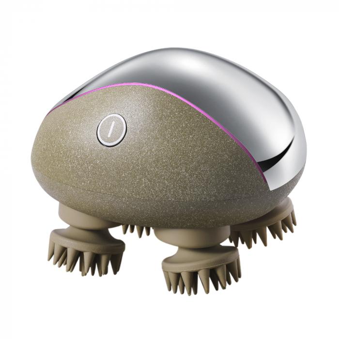 Dispozitiv masaj pentru scalp incarcare wireless - cu baza 0