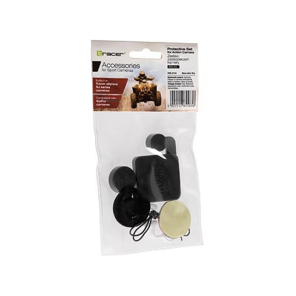 Set protectie camera TRACER ZM-04,Compatibil GoPro 3