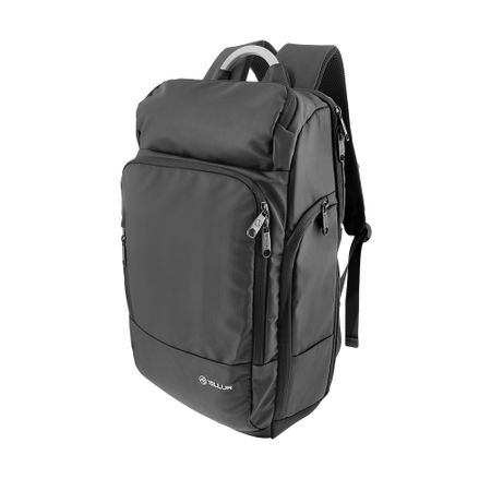"""Rucsac laptop Tellur Business L, cu port USB, 17.3"""", negru [2]"""