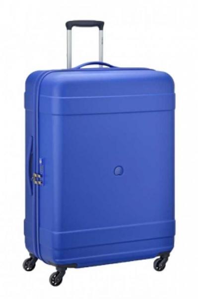 Troler Delsey Indiscrete Hard 55 cm albastru 1